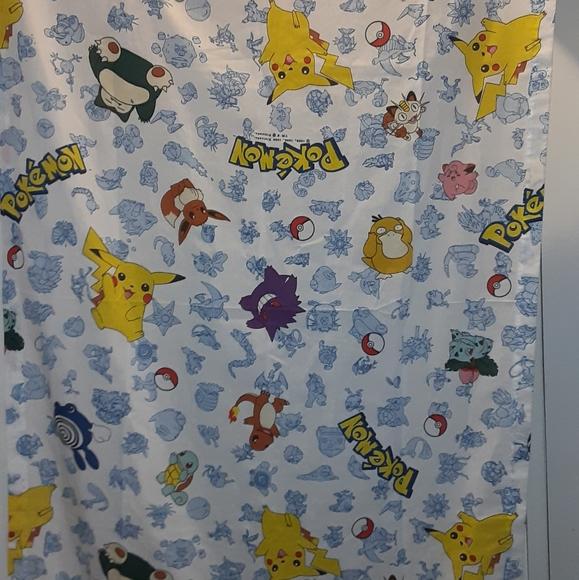 Vintage Pokemon Curtain